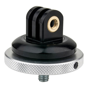 Metal GoPro Tripod Mount with 1/4in-20 Male