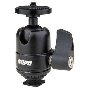 Midi Ball Head with Hot Shoe Mount