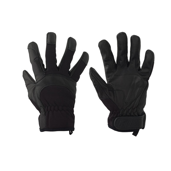 Ku-Hand Grip Gloves, Goatskin - Large, Black