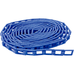 Plastic Chain 3.5m / 11.5ft - Blue