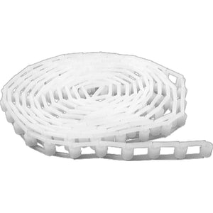 Plastic Chain 3.5m / 11.5ft - White
