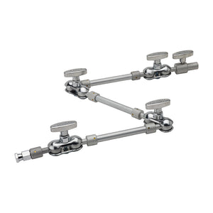 Articulated Arm with Baby 5/8in (16mm) Stud with 3/8in - 16 Female
