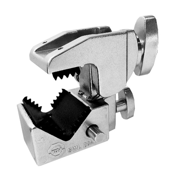Convi Clamp w/Teeth - Silver