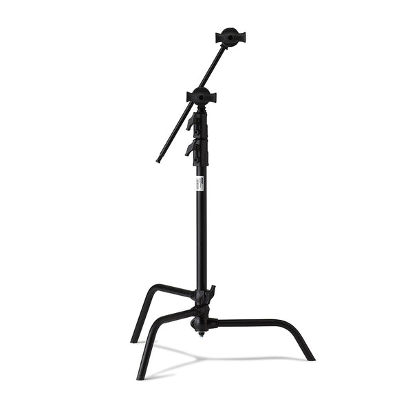 20in Master C-Stand with Sliding Leg Kit (Stand 2.5in Grip Head & 20in Grip Arm with Hex Stud) - Black