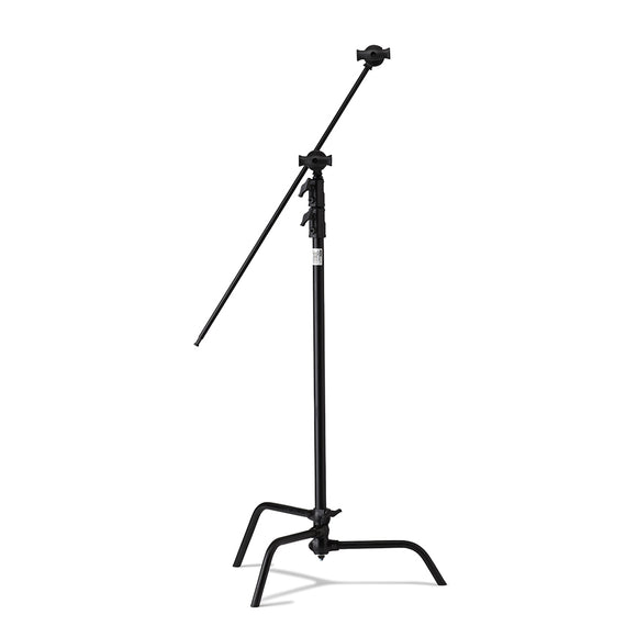 40in Master C-Stand with Sliding Leg Kit (Stand 2.5in Grip Head & 40in Grip Arm with Hex Stud) - Black