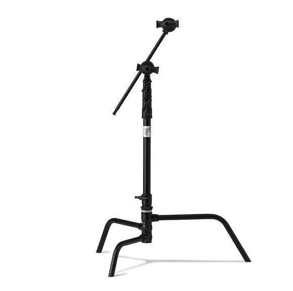 20in Master C-Stand with Turtle Base Kit (Stand 2.5in Grip Head & 20in Grip Arm with Hex Stud) - Black