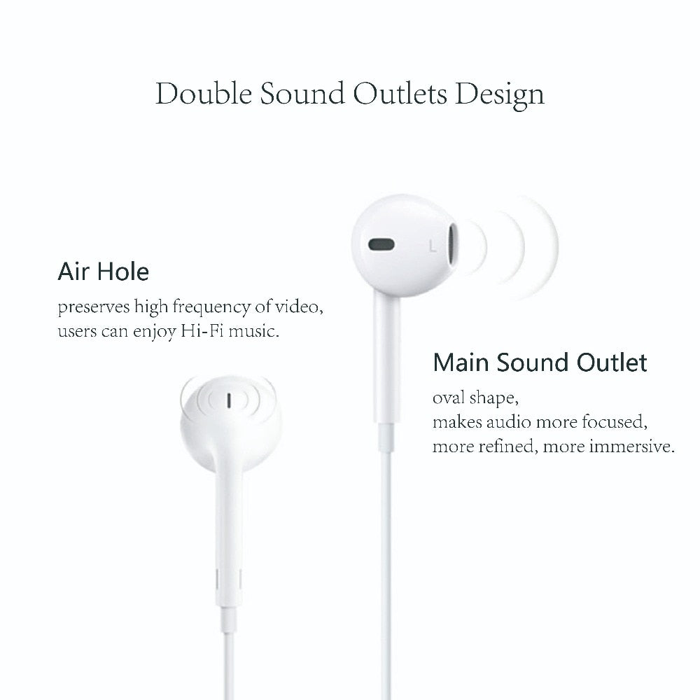 Apple s Earphone for Mobile Phone Original Apple EarPods with 3.5mm ... d65c62c3a9f41