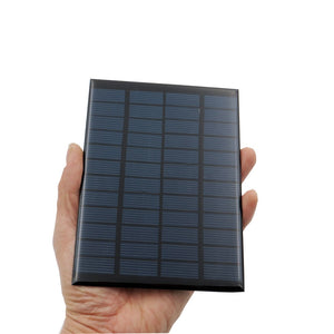 Solar Consumer Electronics Mini 9v 12v 2w 3w 4.2w Solar Panel Solar Power Panel System Diy Battery Cell Charger Module Portable Panneau Solaire Energy High Quality Goods