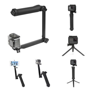 1dbc791c0215 SHOOT XTGP217 Foldable Multi-functional 3-Way Grip Arm Monopod Stand Mini  Tripod Selfie Stick for GoPro SJCAM Eken Xiaomi Action Cameras for  Smartphones for ...