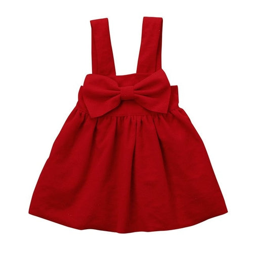 Toddler Kids little red dress  Outfit Clothes
