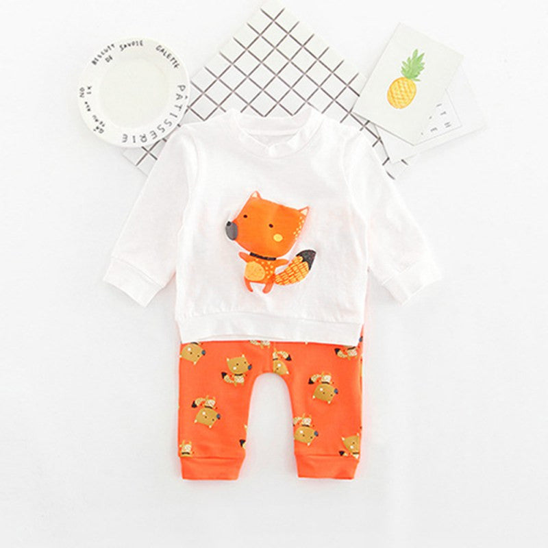 Boy/Girl Fox set