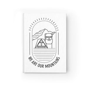 We Are Our Mountains Journal - Blank - Tatik