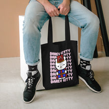 Load image into Gallery viewer, Barev Kitty Cotton Tote Bag - Tatik