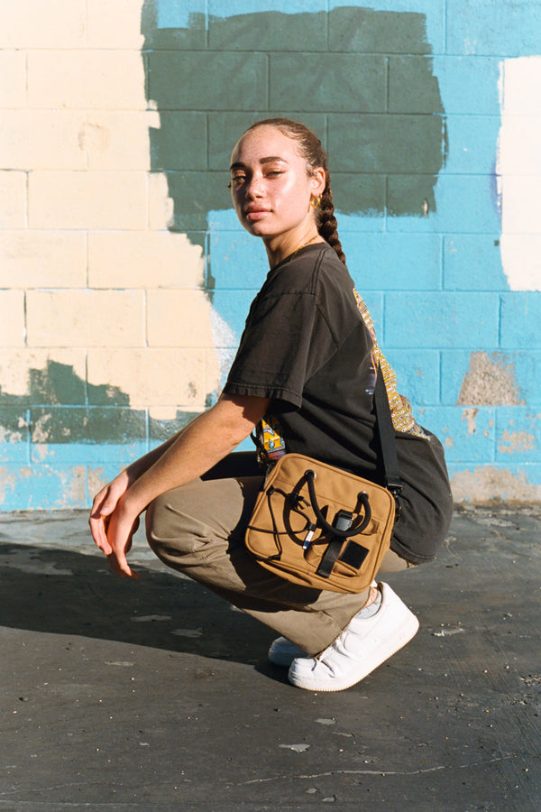 Muni Crossbody Bag | Desert Tan