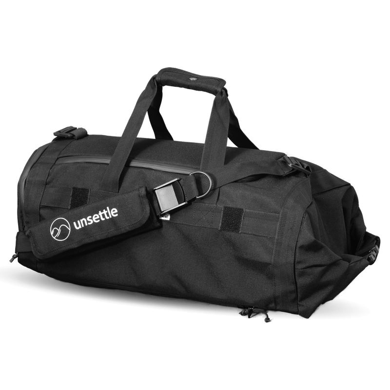 Commuter-duffle-bag-space-black-angle