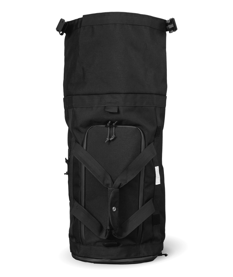 Commuter-duffle-bag-space-black-unrolled