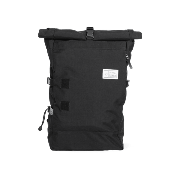 Commuter-roll-top-backpack-2.0-space-black-front