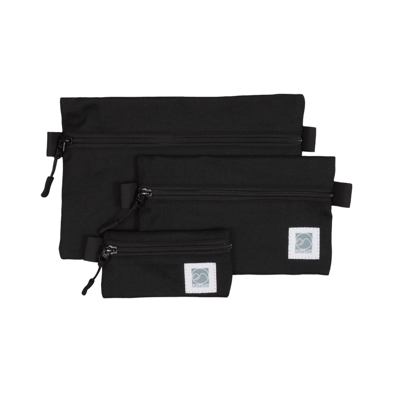 Accessory Organizers Packs | Space Black