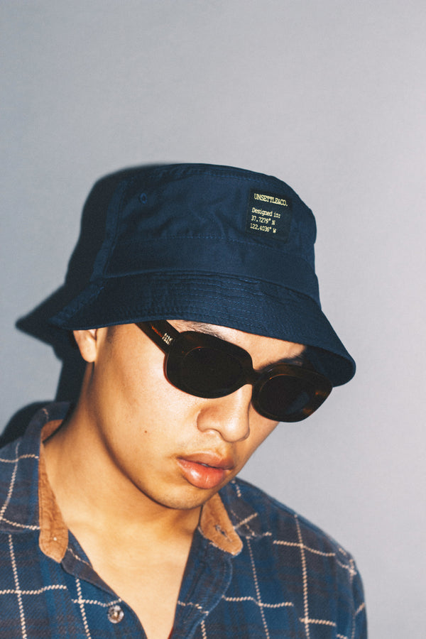 SF Bucket Hat | Navy Blue