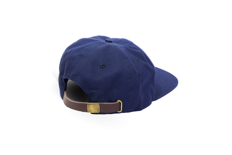 Unsettle Classic 5-Panel | Aqua Navy