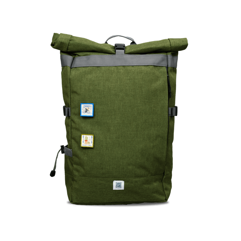 Commuter Roll Top Backpack 3.0 | Field Green