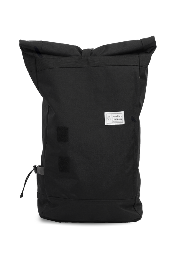 commuter rolltop backpack | space black