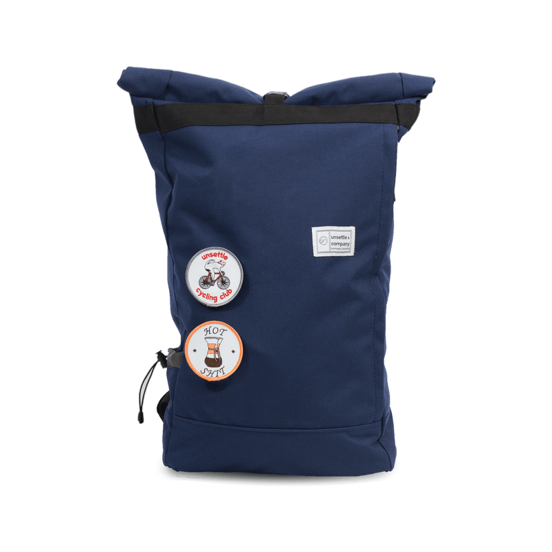 commuter-roll-top-backpack-navy-front-patches
