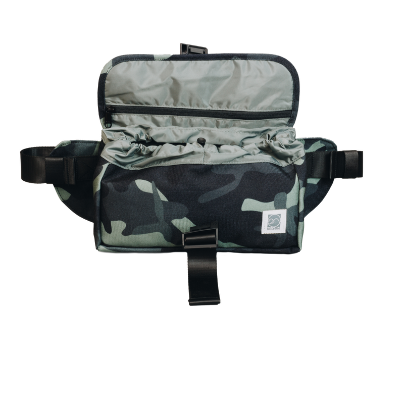 Rush Hour Sling Bag | Gray Camo