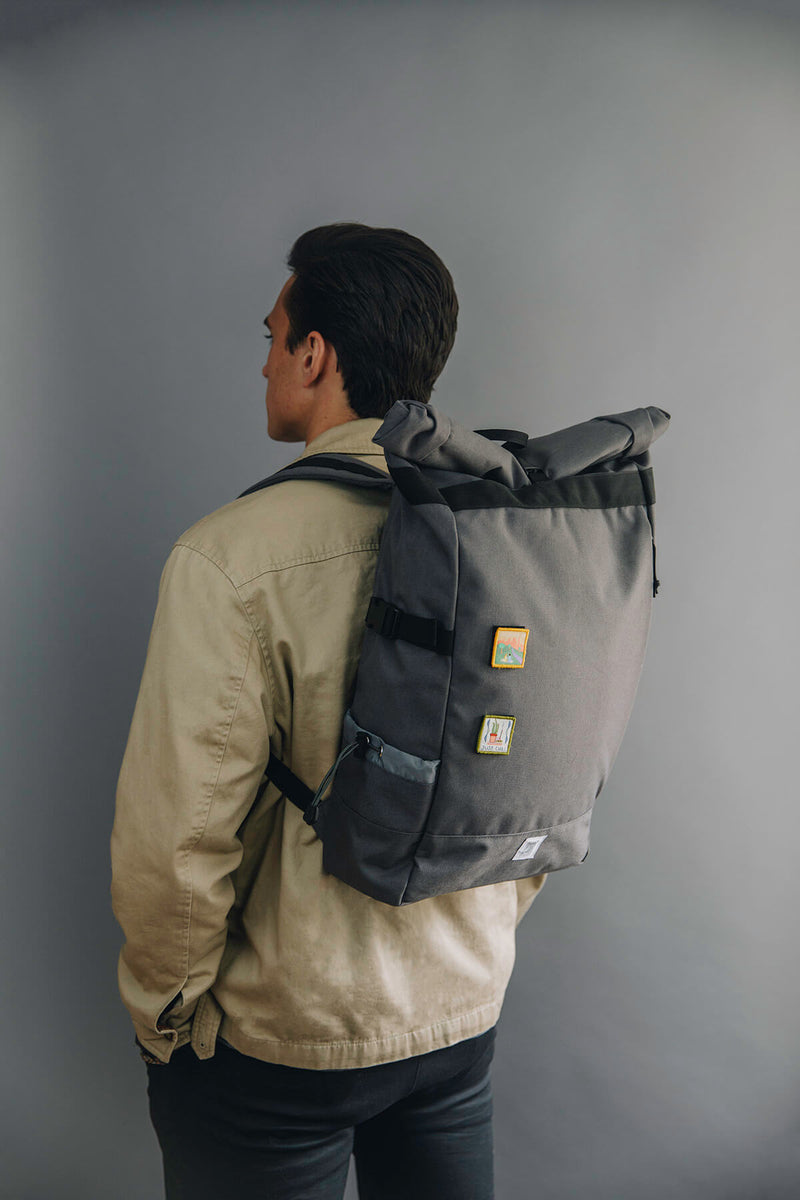 Commuter Roll Top Backpack 3.0 | Slate Gray