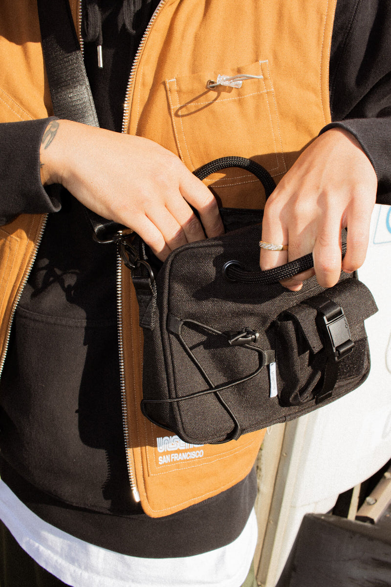 Muni Crossbody Bag | Space Black
