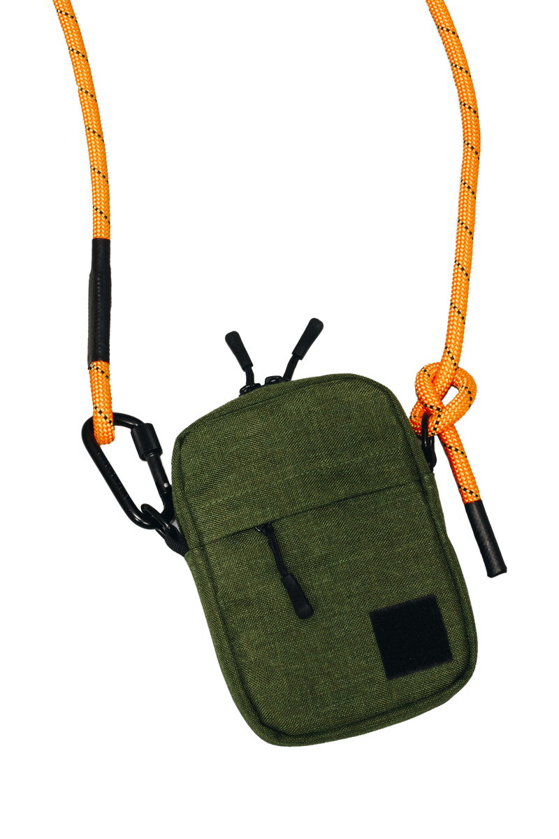 Rope Crossbody Bag | Field Green