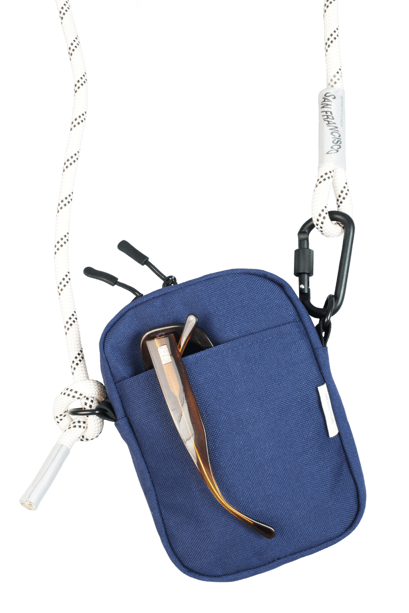 Rope Crossbody Bag | Navy Blue