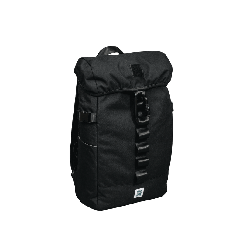 black rucksack backpack for men