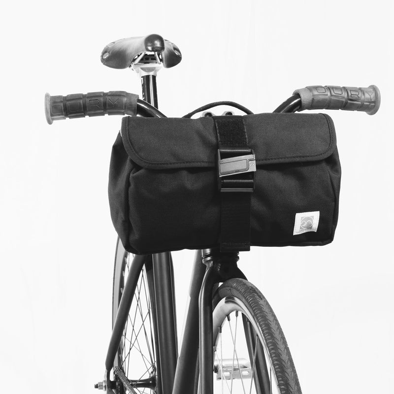 rush hour sling bag on a bike