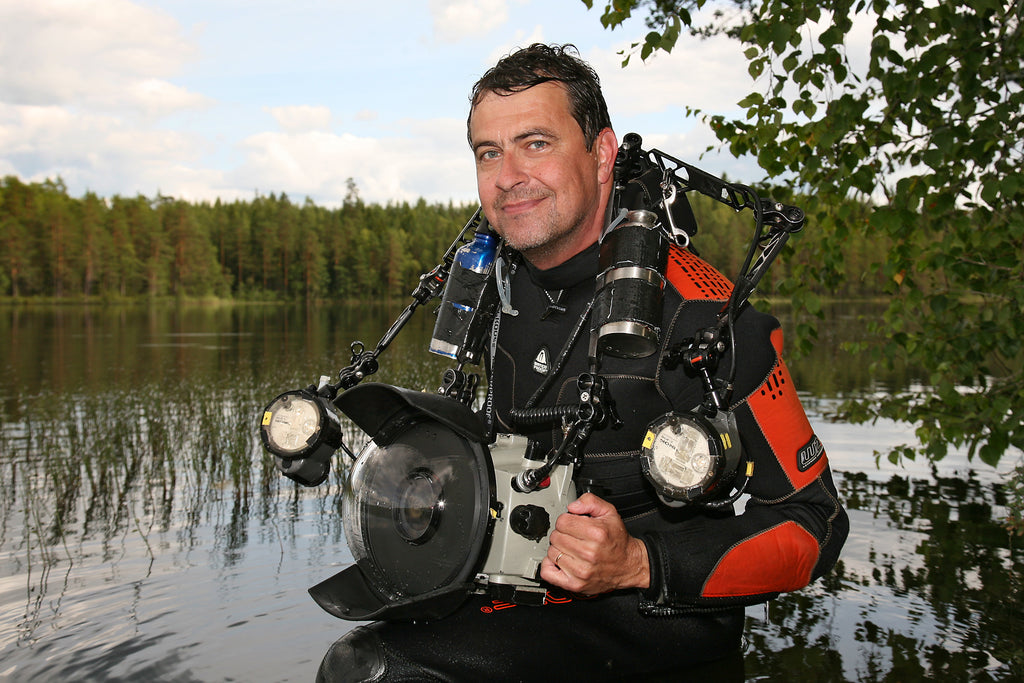 Pekka Tuuri underwater photographer