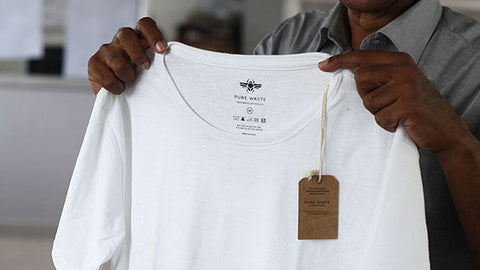 Pure Waste t-shirt made in India