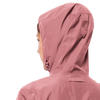 Jack Wolfskin - Women's CAPE YORK COAT - Rose - Waterproof coat from 100% recycled fabric - Weekendbee - sustainable sportswear