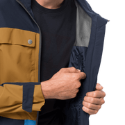 Jack Wolfskin - Men's 365 INFLUENCER JACKET - Waterproof shell jacket from recycled fabric - Weekendbee - sustainable sportswear