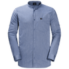 Jack Wolfskin - Men's INDIAN SPRINGS SHIRT - Dusk Blue Stripes - Organic Cotton/ Tencel - Weekendbee - sustainable sportswear