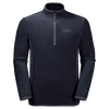 Jack Wolfskin - Men's ECHO Fleece - Night Blue - Recycled Polyester - Weekendbee - sustainable sportswear