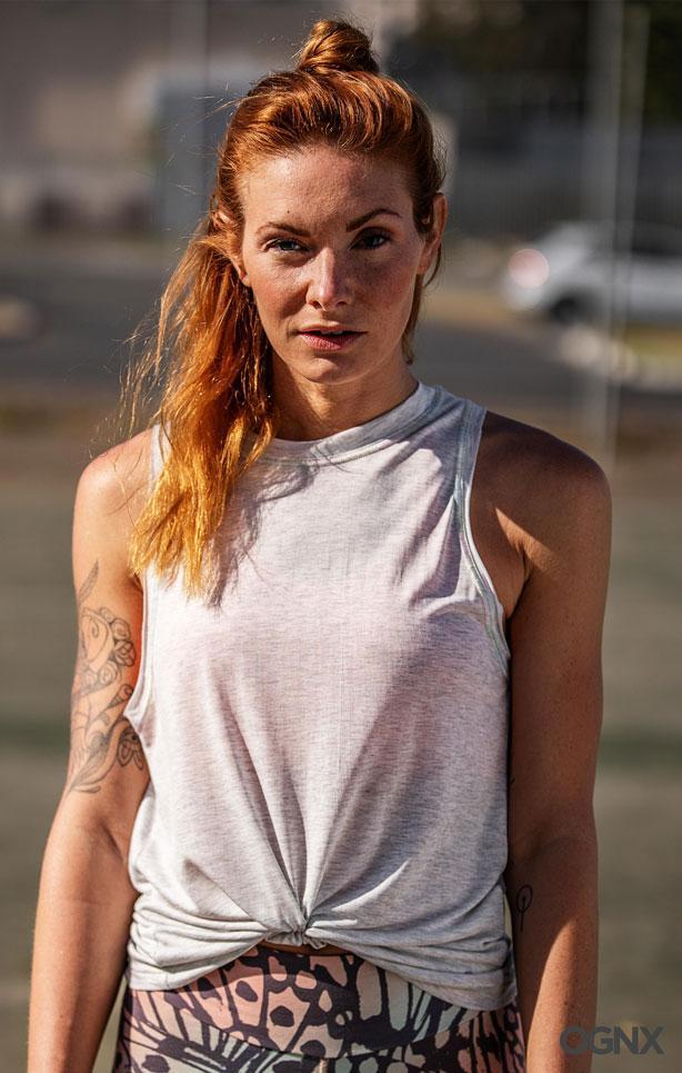 OGNX - Athletic Tank Rainbow - 100% Lenzing Lyocell - Weekendbee - sustainable sportswear