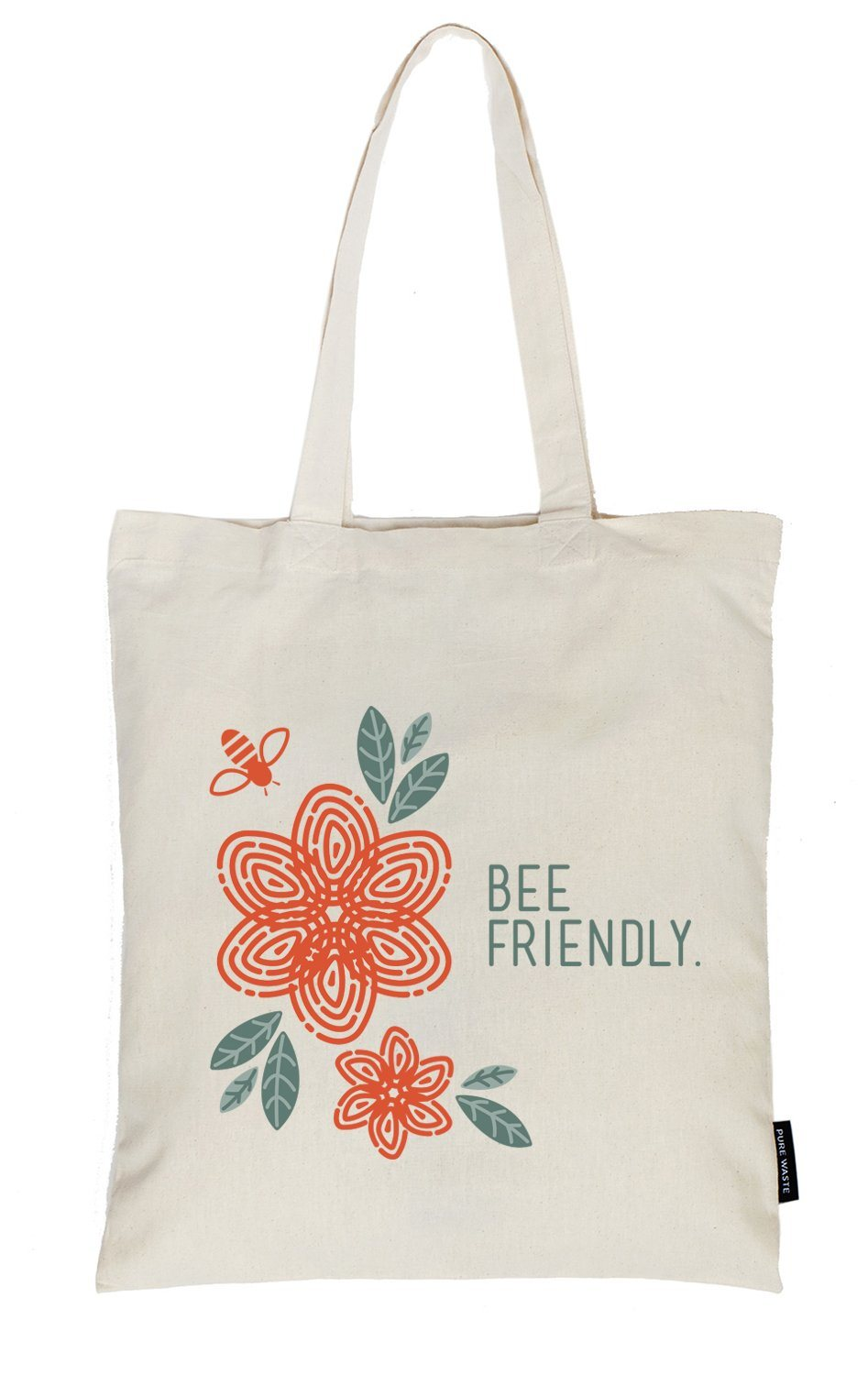 Weekendbee - Bee Friendly - Charity Canvas Bag - Weekendbee - sustainable sportswear