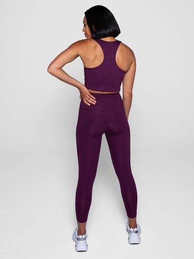 Girlfriend Collective - Compressive Legging - Made from recycled plastic bottles - Weekendbee - sustainable sportswear