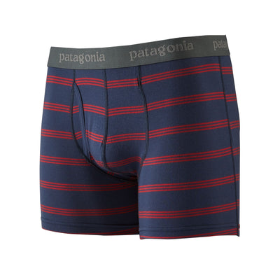 "Patagonia - Essential Boxer Briefs - 3"" - From Wood-based TENCEL - Weekendbee - sustainable sportswear"