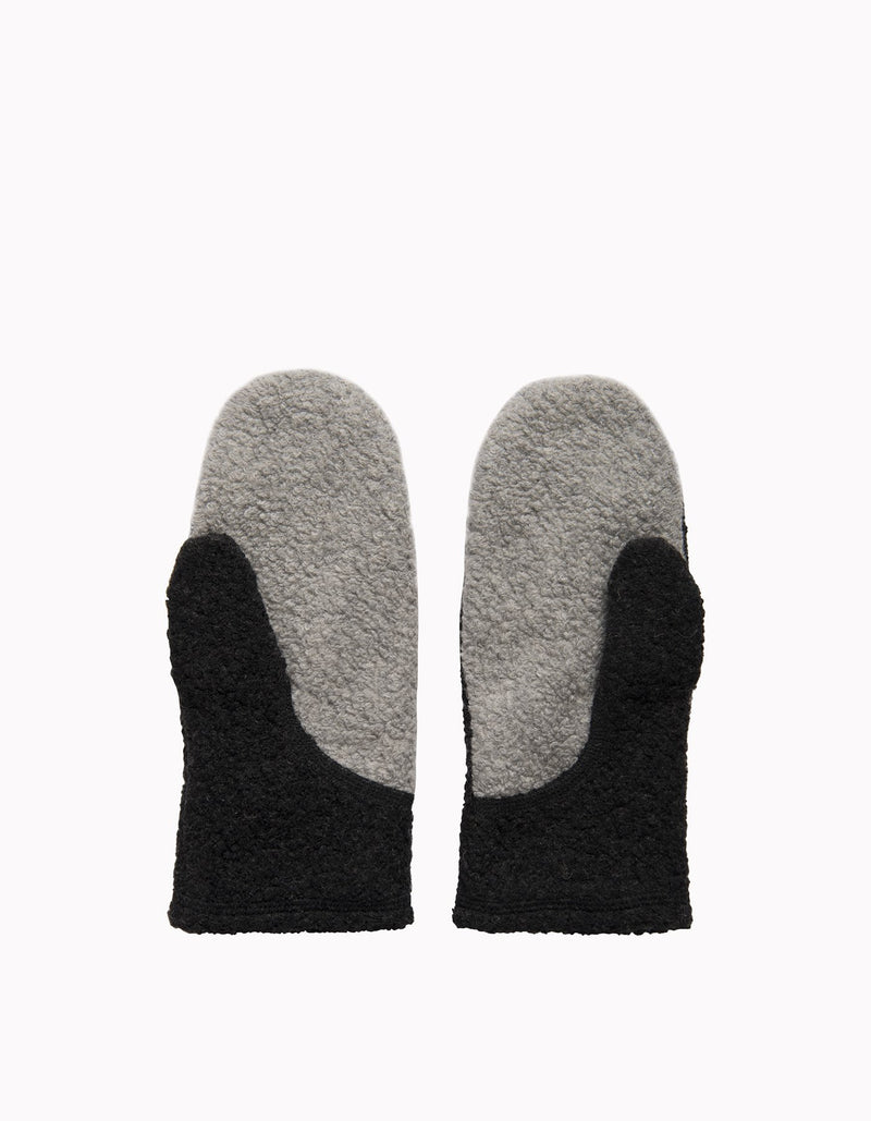 Varg - Fårö Mittens - Grey Mix - Recycled Wool - Weekendbee - sustainable sportswear