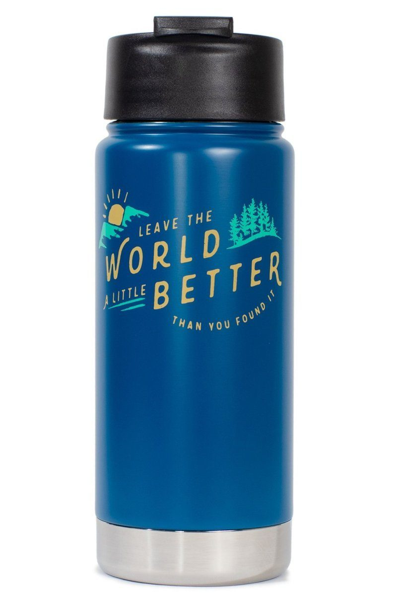 United By Blue - Found 16 oz. Stainless Steel Travel Bottle / Mug - Weekendbee - sustainable sportswear