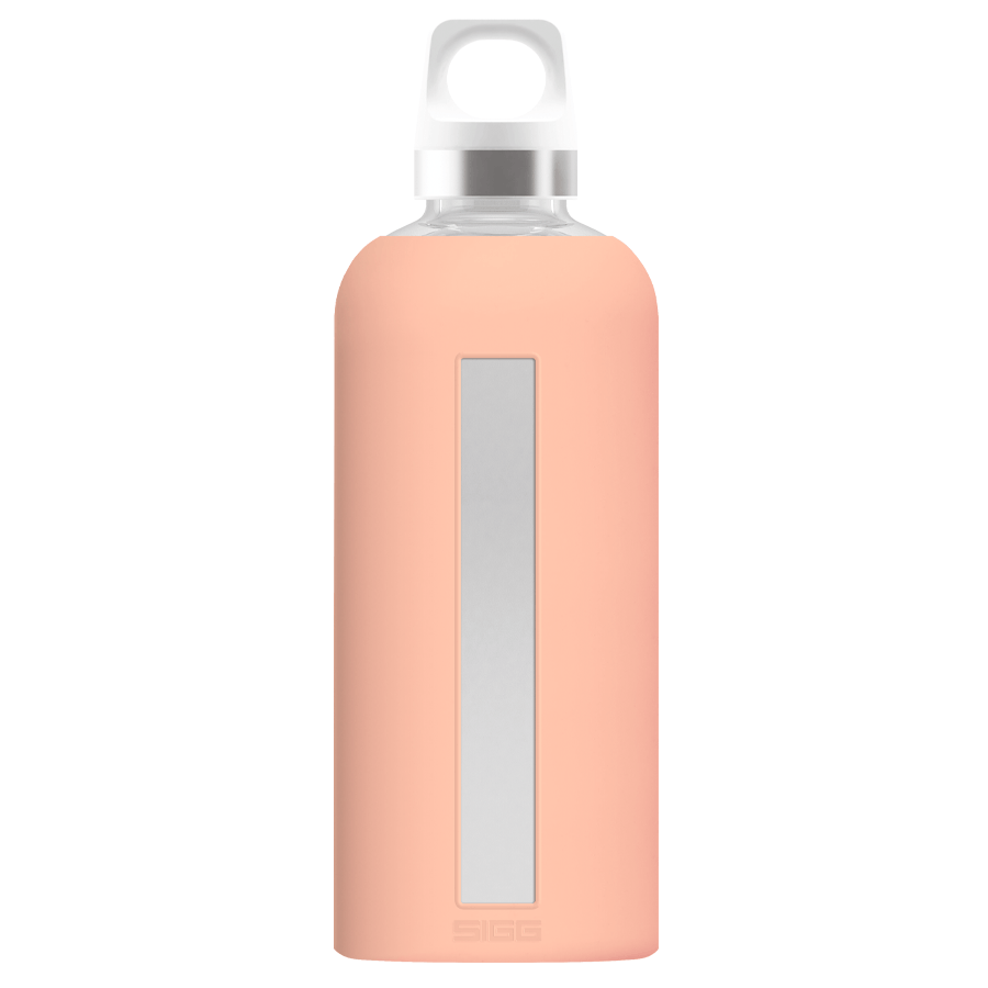 SIGG - Glass Water Bottle Star - Weekendbee - sustainable sportswear