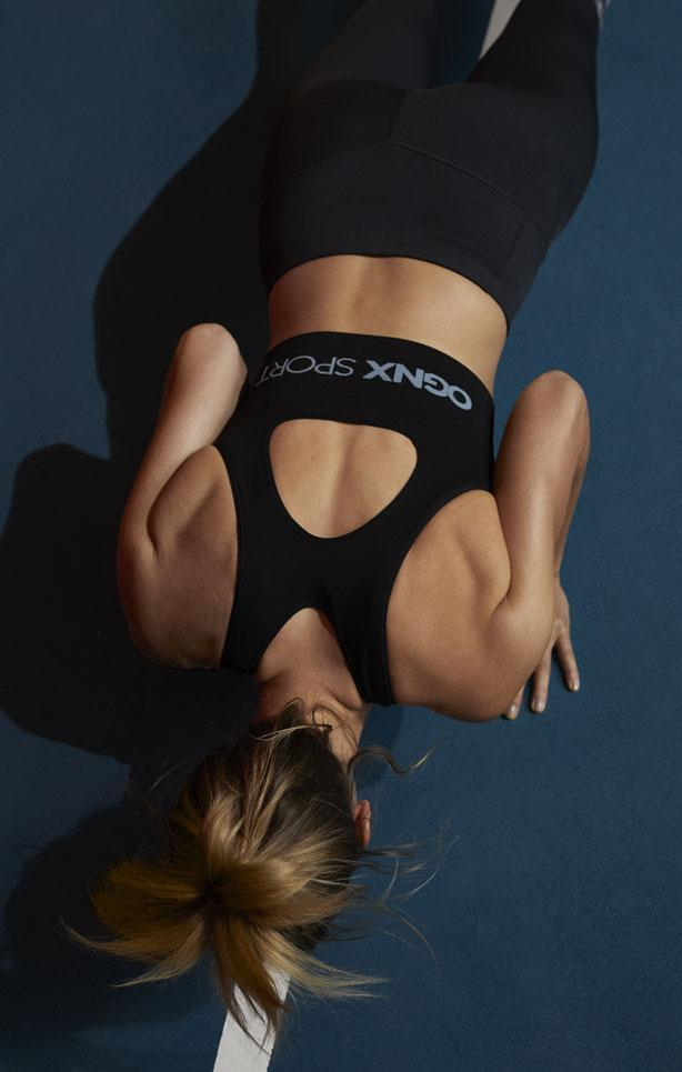 OGNX - High Support Sports Bra - Recycled Polyamide - Weekendbee - sustainable sportswear