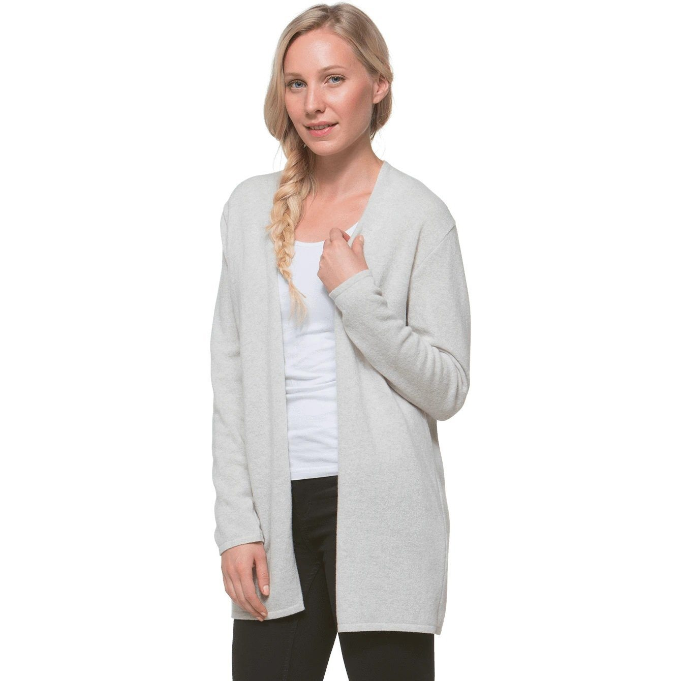 North Outdoor - KAARNA Cardigan - 100 % Merino Wool