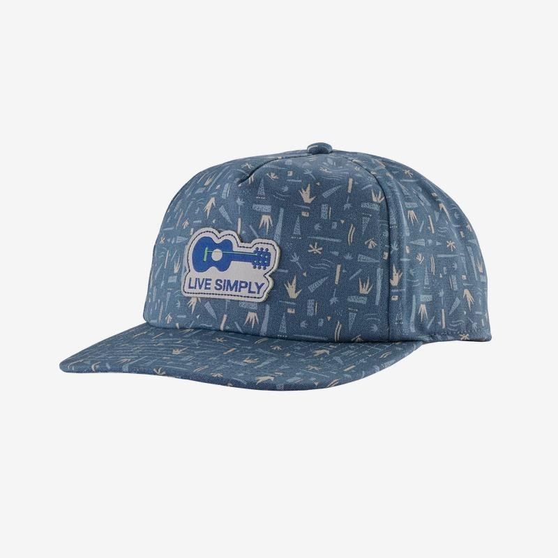 Patagonia - Live Simply Guitar Funfarer Cap - Eco materials - Weekendbee - sustainable sportswear